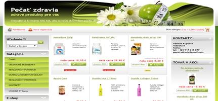 Ponuka produktov